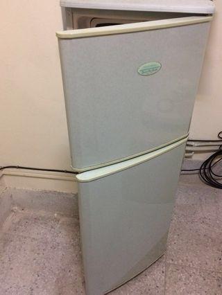 雙層冰箱 需自取 功能正常