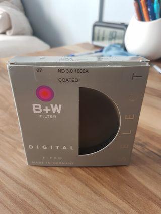 🚚 B+W 67mm ND 3.0 Filter