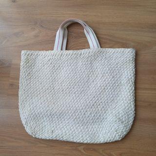 Uniqlo White Bag