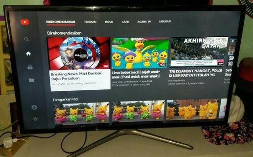 Smart TV LED Samsung mulus like a new siap antar