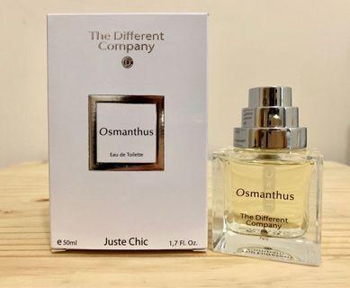 《二手甜價》The Different Company (TDC)Osmanthus桂花飄香50ml
