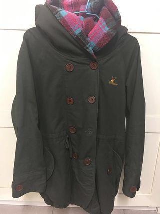 🚚 軍綠色保暖外套