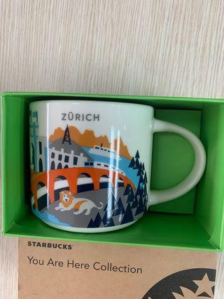 Starbucks Mug Zurich City Mug 14fl /414ml