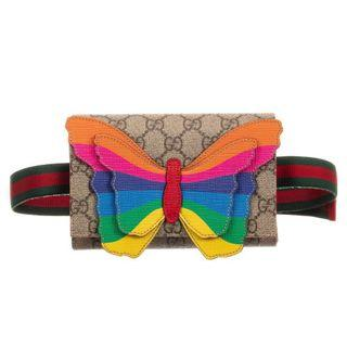 🚚 Gucci Child Butterfly Waist Pouch