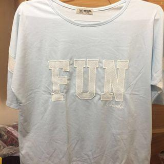 "Nevada Blue ""FUN"" Lace Top"