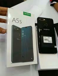 Oppo A5s 3/32 black ready kredit Dp cuma 450rb aja