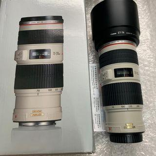 Canon 70-200mm F4 L IS USM (公/UD)