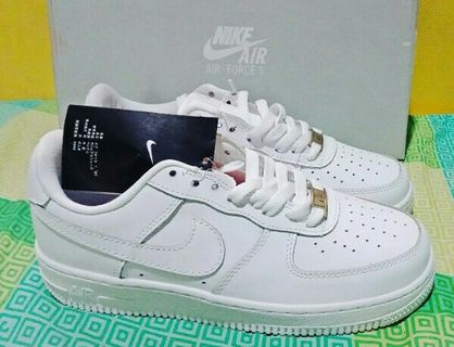 detailed look 18a2b 7eae6 Nike Air Force 1 Authentic Women TRIPLE WHITE Airforce 1 Running Casual  Shoes Sneakers