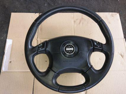 Steering momo subaru mitsubishi airbag
