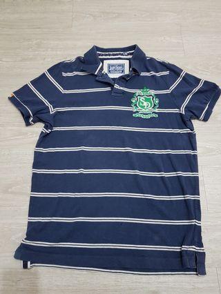 正版Superdry極度乾燥 棉質Polo衫-XXL號