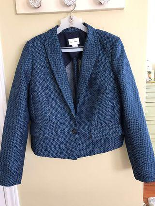 Club monaco blue blazer