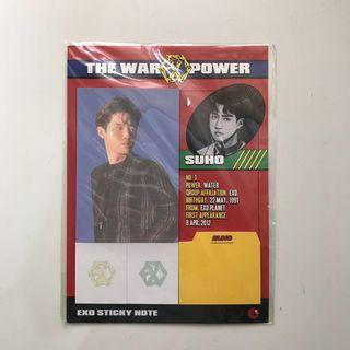 EXO - The War Sticky Note (Suho Version)