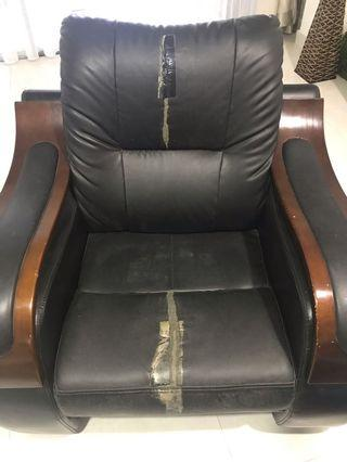 Single Old Couch