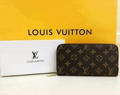 LV long wallet with box