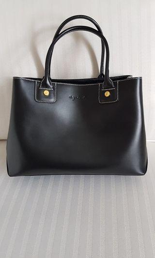 🚚 Agnes b. Leather Handbag