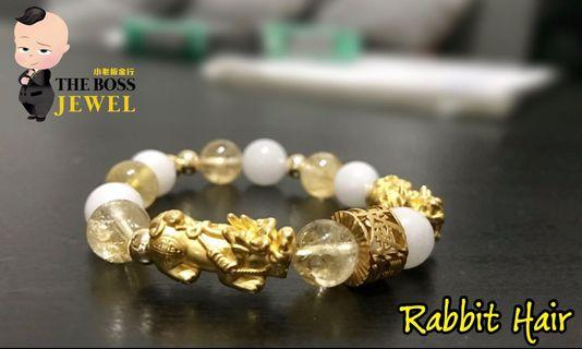 🚚 Customised 999 Gold Bracelets With Rare Beads