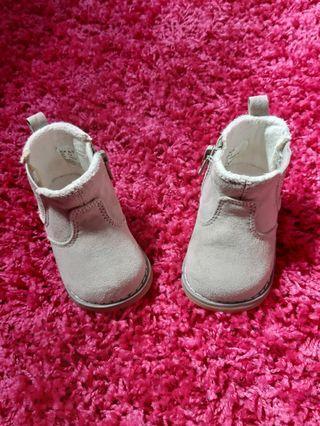H&M BABY VELVET BOOTS