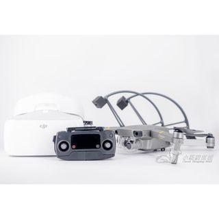 【拆封新品】大疆 DJI MAVIC Pro 空拍機 鉑金版 + DJI GOGGLES 飛行眼鏡 + 保護罩+單肩包