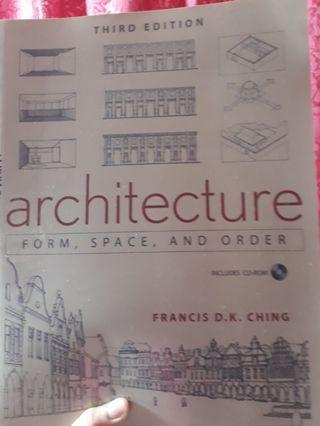 Achitecture data (form,space& order)