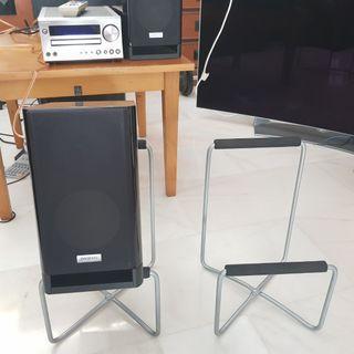 Ikea speaker stands 2 pair    . Speaker not included