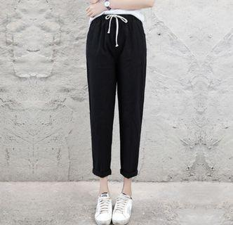 Instock Black Long Pants