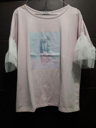 Lacey Pink Shirt