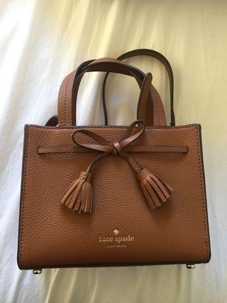 🚚 Kate spade tassel bag