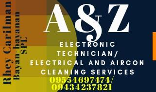 Electronic technician, Electrical and Aircon cleaning Services San Pedro Laguna