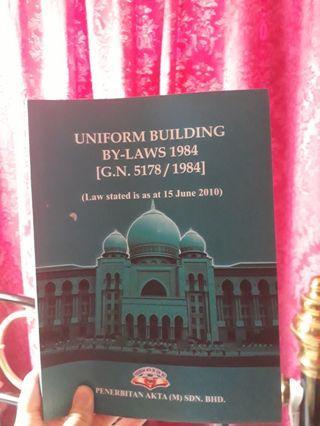Uniform building by law