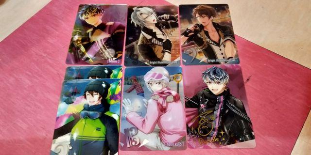 Idolish7 Metal Cards
