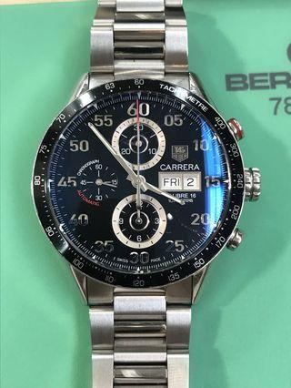 (Watch Services) Tag Heuer Carrera Cal.16 ETA7750