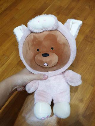🚚 We bare bears grizzly onesie pig costume