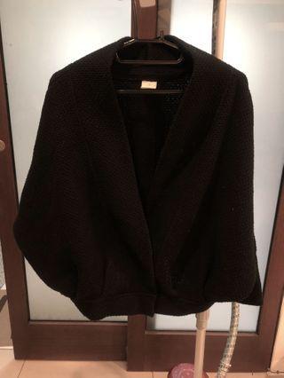 🚚 個性飛鼠袖黑外套