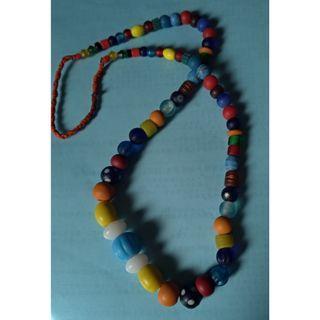 尼泊爾手工古法琉璃項鍊