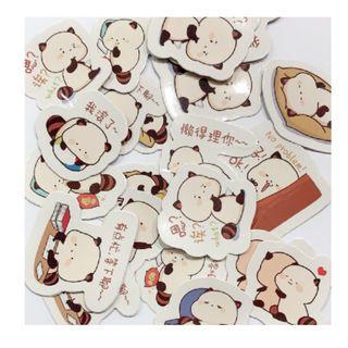🚚 Adorable Sticker/ Animal Sticker