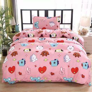 BTS 周邊 床單被套枕頭套三件裝代購