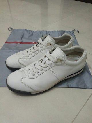 Prada Full white sneakers