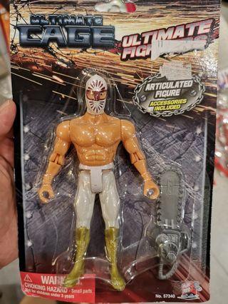 Bootleg Mexican Wrestler Figures