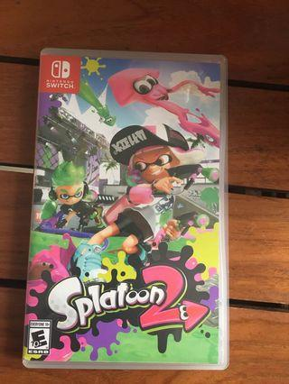 Splatoon 2 Game Nintendo Switch
