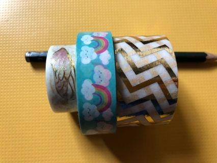 Washi Tapes assortment #GayaRaya