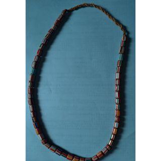 西藏琉璃項珮珠