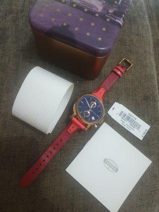 Preloved Fossil BF RED ES 4115 (Very Good Condition)