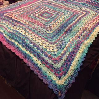Handmade! Ready to sell Crochet blanket