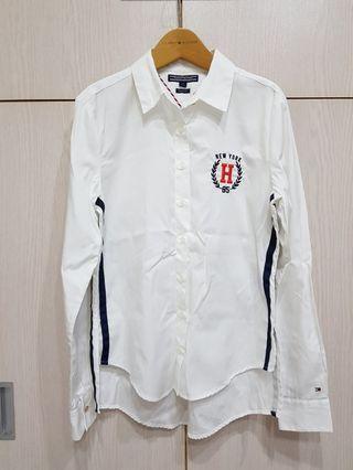流行感白襯衫
