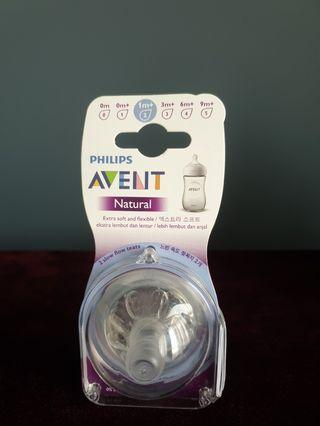 Avent Natural Teats philips brand new