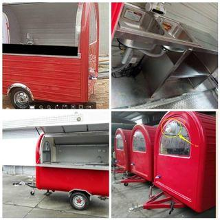 Food Wagon Truck / Food Cabin Truck For Sale