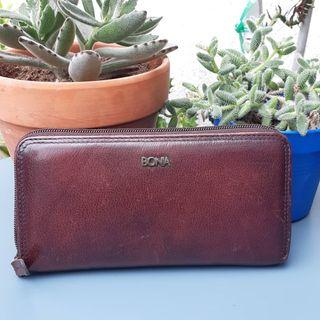 AUTHENTIC BONIA GENUINE LEATHER LONG PURSE