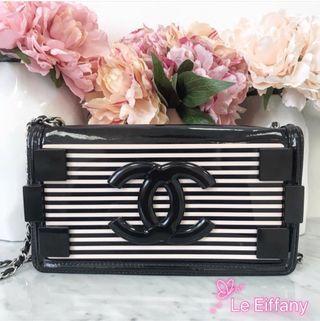 Chanel boy brick sling bag