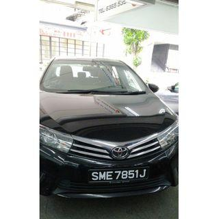 Altis new for rent