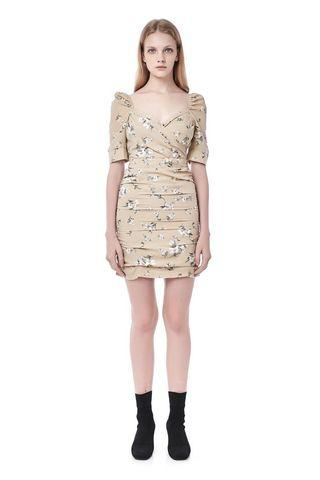 TEM Ruched Floral Dress